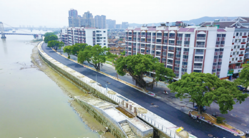 漳州龙海锦江道石码段道路即将通车