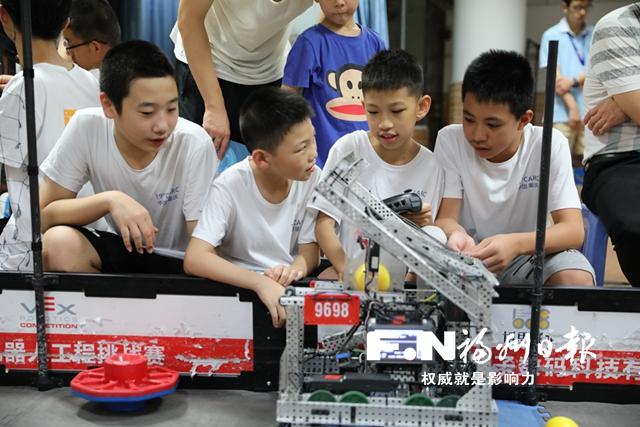 第19届中国青少年机器人竞赛闭幕 福州学子战绩骄人