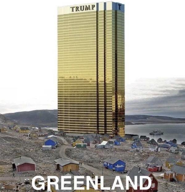 特朗普酒店建到格陵兰 受政界批评