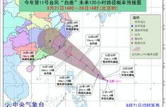 2019台风最新消息 台风白鹿生成25日登陆广东福建 台风白鹿最新实时路径图