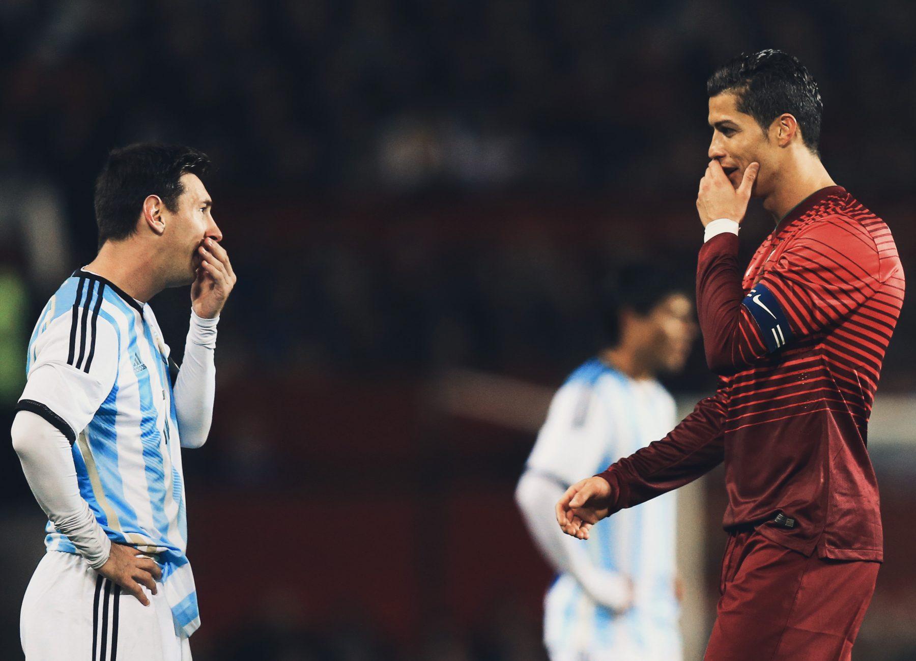 C羅:梅西讓我變更強 2人誰奪冠另一個都會被刺痛