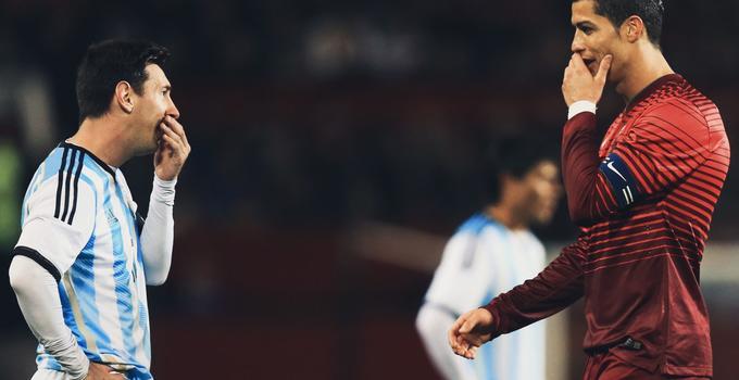 C罗:梅西让我变更强 2人谁夺冠另一个都会被刺痛