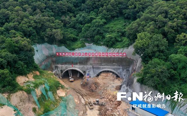 福州将新添第3条金鸡山隧道 为中心城区最宽隧道