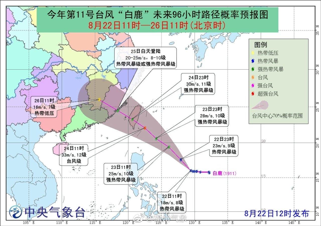 榕局地超38℃!周末台风会来福州吗?会降温吗?