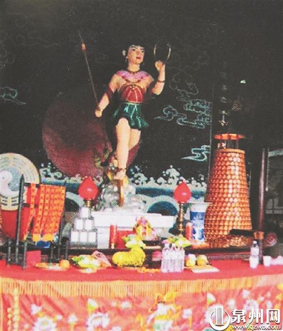 泉州七座庙宇奉祀三太子 哪吒信仰泉州古已有之