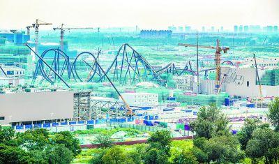 北京环球影城过山车现场图曝光 北京环球影城主题公园什么时候开业