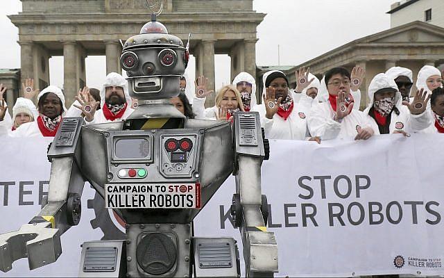 微软亚马逊研发AI致命武器 或危及全球安全