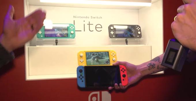 小巧又精致 IGN晒出Switch Lite科隆参展照片