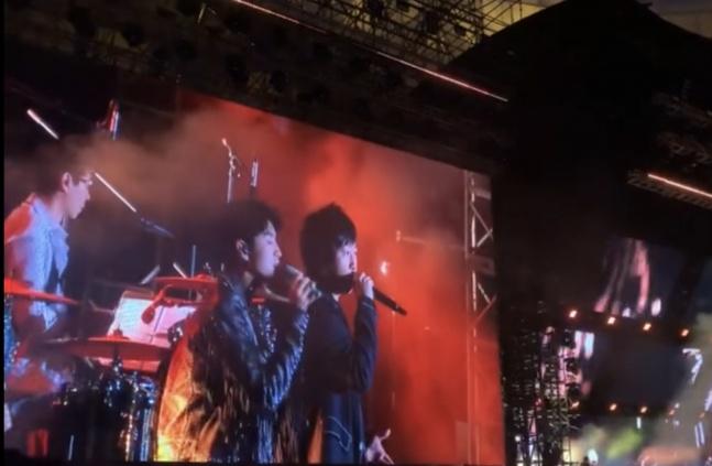 五月天鸟巢演唱会现场图曝光 五月天鸟巢演唱会王俊凯惊喜现身