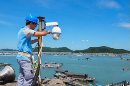 调测海上防汛全球眼