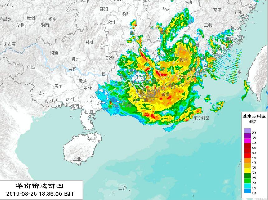 台风白鹿最新情况目前已减弱 2019年台风最新消息 台风白鹿有多猛