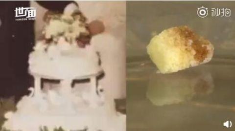 结婚蛋糕吃49年怎么回事 49年了蛋糕还能吃吗