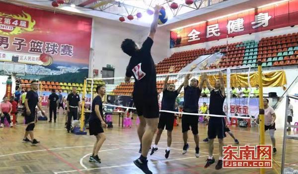 龙岩市老干部局系统举行干部职工气排球比赛