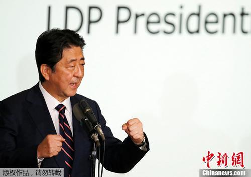 安倍明确表示9月将改组内阁 调整自民党高层人士