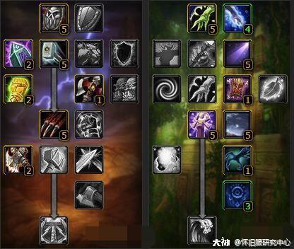 魔兽世界怀旧服萨满武器图片