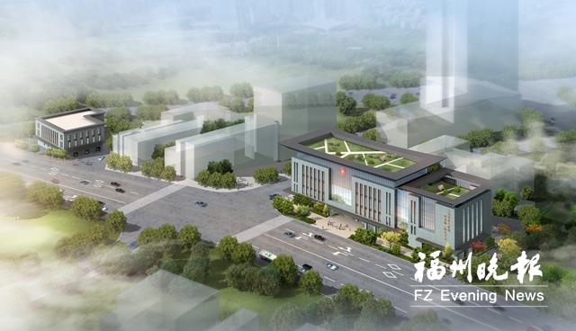 福州市二医院改扩建项目动工 将新增300个停车位