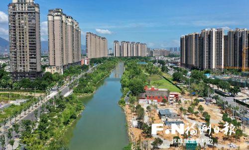 """福州浦上河最后一处串珠公园下月""""揭幕"""" 全线添绿约5万平方米"""