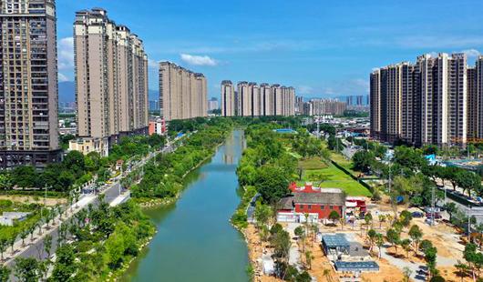 """福州浦上河最后一处串珠公园下月""""揭幕"""""""