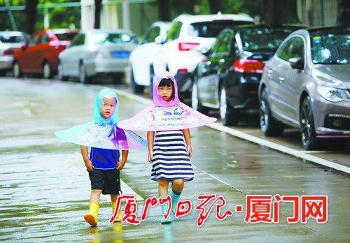 仲秋时节雷雨多 厦门今日有雷阵雨气温继续回落