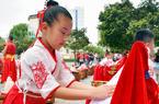 """沙县:新生""""开笔破蒙"""" 感知传统文化"""