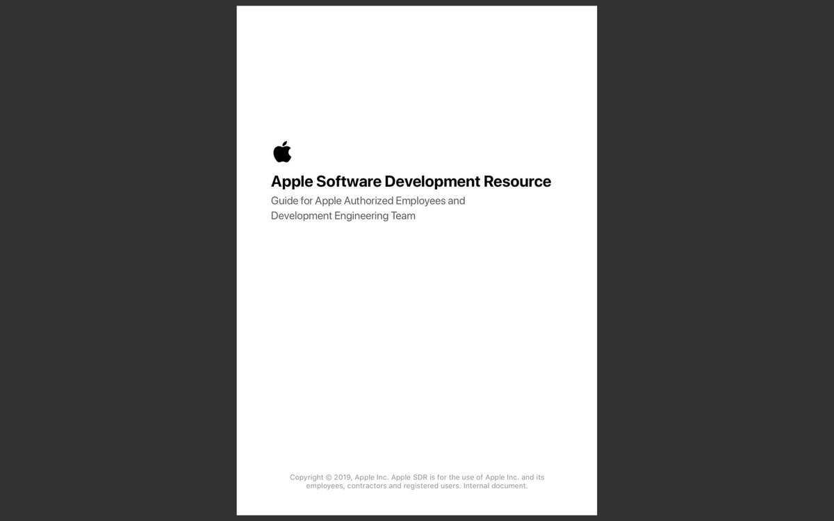 苹果内部文件泄露具体什么情况 苹果内部文件泄露内容一览