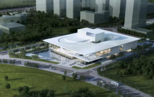 平潭国际演艺中心正式动工建设 将打造地标性建筑