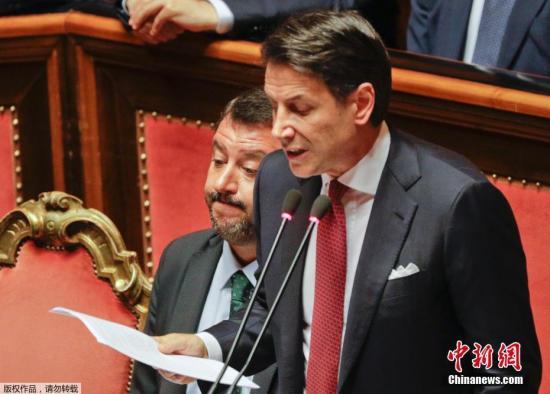 意大利经历政坛危机后再组新内阁:5日宣誓就职