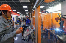 福建泉州首次举行省级机器人焊接技能大赛