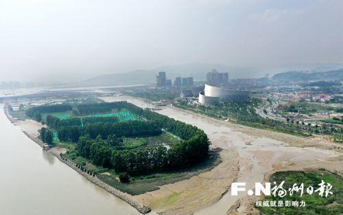 """福州三江口马航洲湿地生态修复工程本月底基本完成 筑起绿色""""屏障"""" 守护鸟类""""天堂"""""""