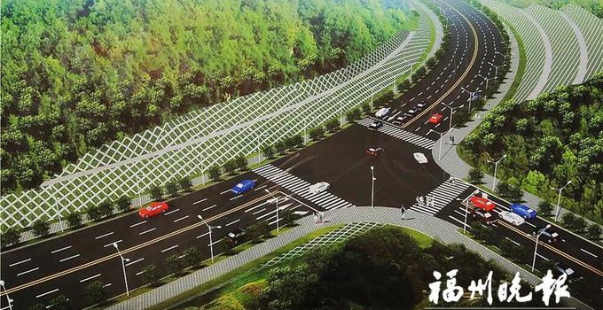 福州东鹤路改造工程一期本月主体完工 长乐城区东大门将打通
