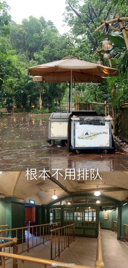 香港迪士尼惨变无人乐园详细新闻介绍?香港迪士尼为什么变无人乐园现场图