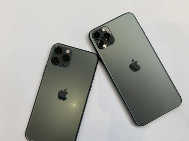 首次搭载3个摄像头的iPhone