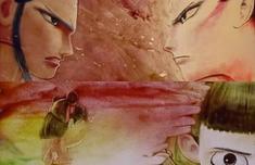 中国达人秀沙画表演在第几期 沙画重现哪吒背景歌曲是什么