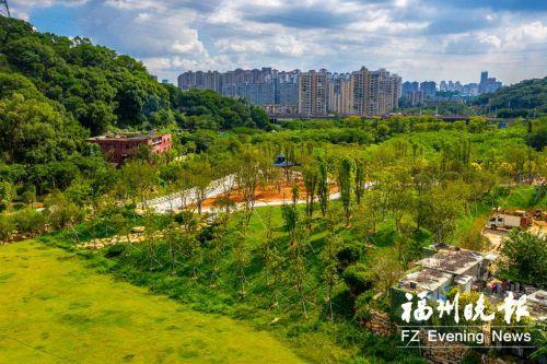 福州晋安区登云水库、李园天桥附近新增两处生态公园