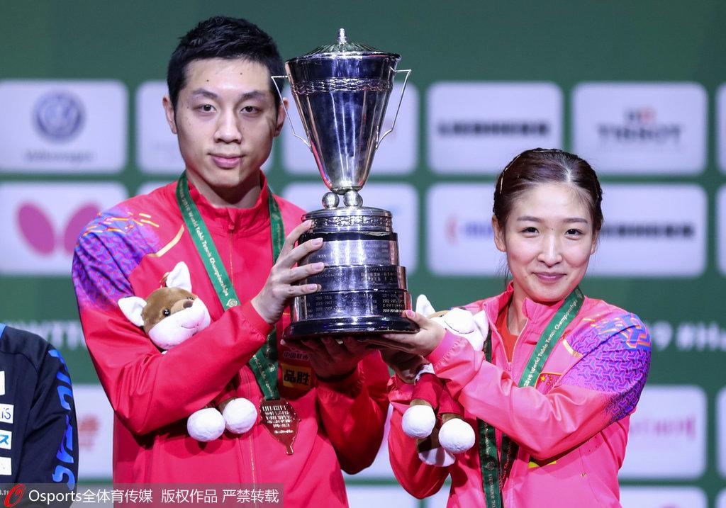乒乓球亚锦赛许昕身兼四项马龙缺席 刘诗雯回归