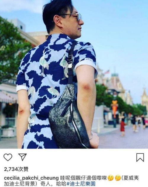 张柏芝晒男子背影新闻介绍?张柏芝为什么晒男子背影两人什么关系