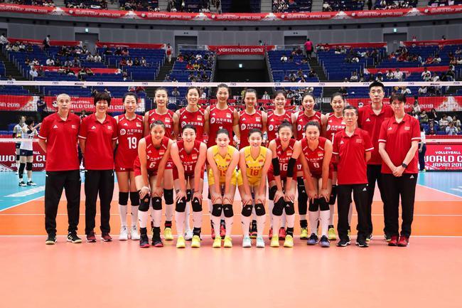 中国女排首发都有谁 世界杯中国女排战喀麦隆首发李盈莹曾春蕾亮相