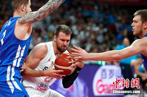 2019男篮世界杯排位赛:美国第七创历史最差 塞尔维亚逆转捷克获第五