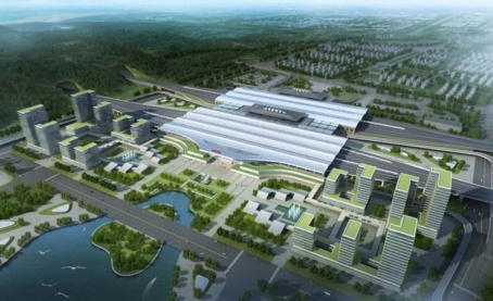 福州火车南站扩建设计方案确定 将成全国第二大火车站