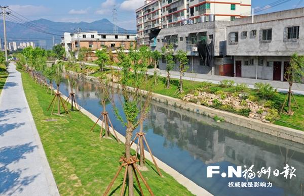 福州龙津河水下工程全面完成 9.14公里沿河步道月底贯通