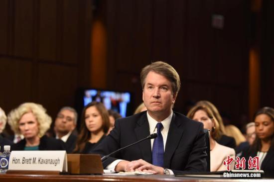 美大法官卡瓦诺再被揭发性侵丑闻 特朗普出面辩护