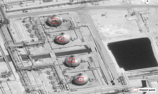 沙特油田被炸 袭击后飙升的原油价格涨幅高达20%