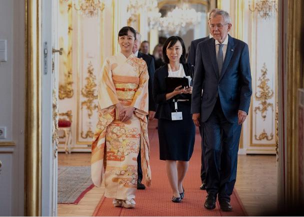 日本最美公主外访怎么回事 日本最美公主佳子公主照片一览