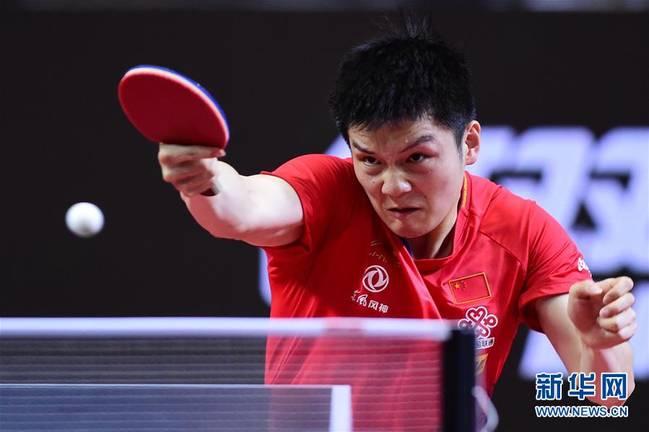 (體育)(6)乒乓球——亞錦賽:中國男隊奪得冠軍