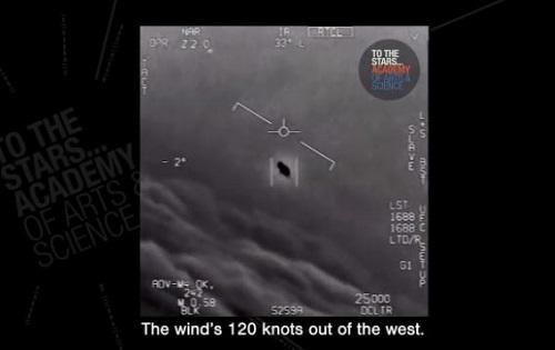 美军回应网传UFO:美国海军公布视频 拍到真实UFO不明飞行物