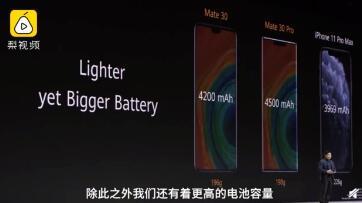 余承东硬刚iPhone11 但是Mate30这价格也不比苹果低啊