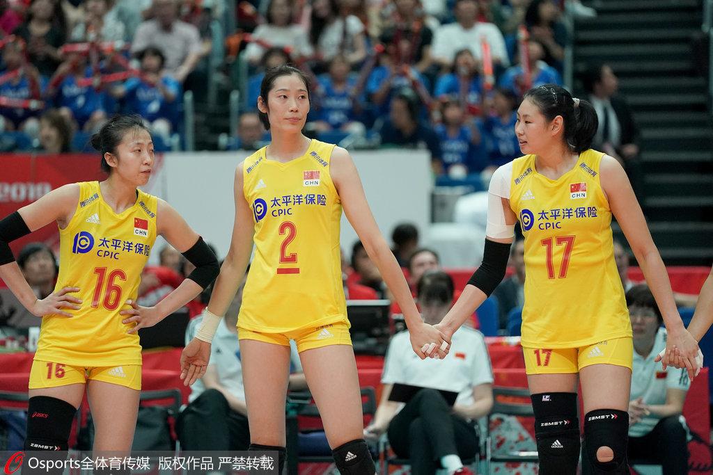 中国vs日本女排3-0横扫日本 中国女排五连胜