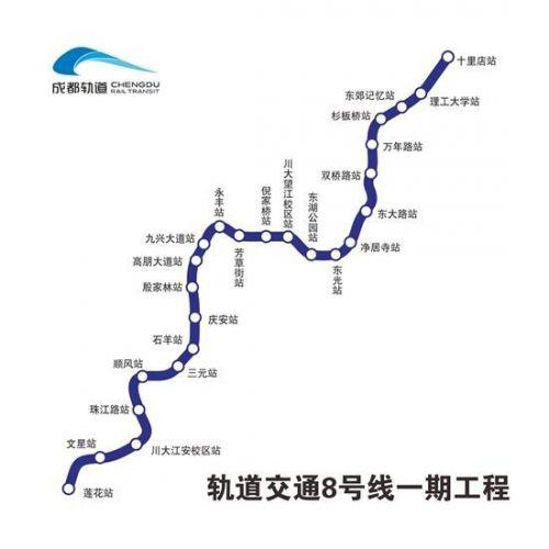 成都地鐵8號線一期全線洞通詳細情況 成都地鐵8號線進展最新消息