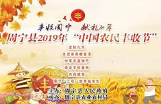 """直播:周寧縣2019年""""中國農民豐收節"""""""