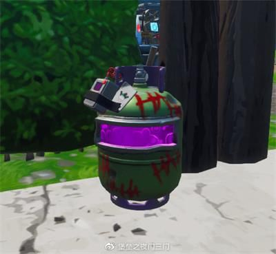 堡垒之夜小丑瓦斯罐位置介绍